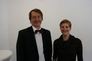 Susann Rüthrich mit Karl Lauterbach