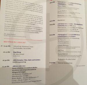 Inhalte der Tagung