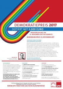 2017 Ausschreibung Demokratiepreis