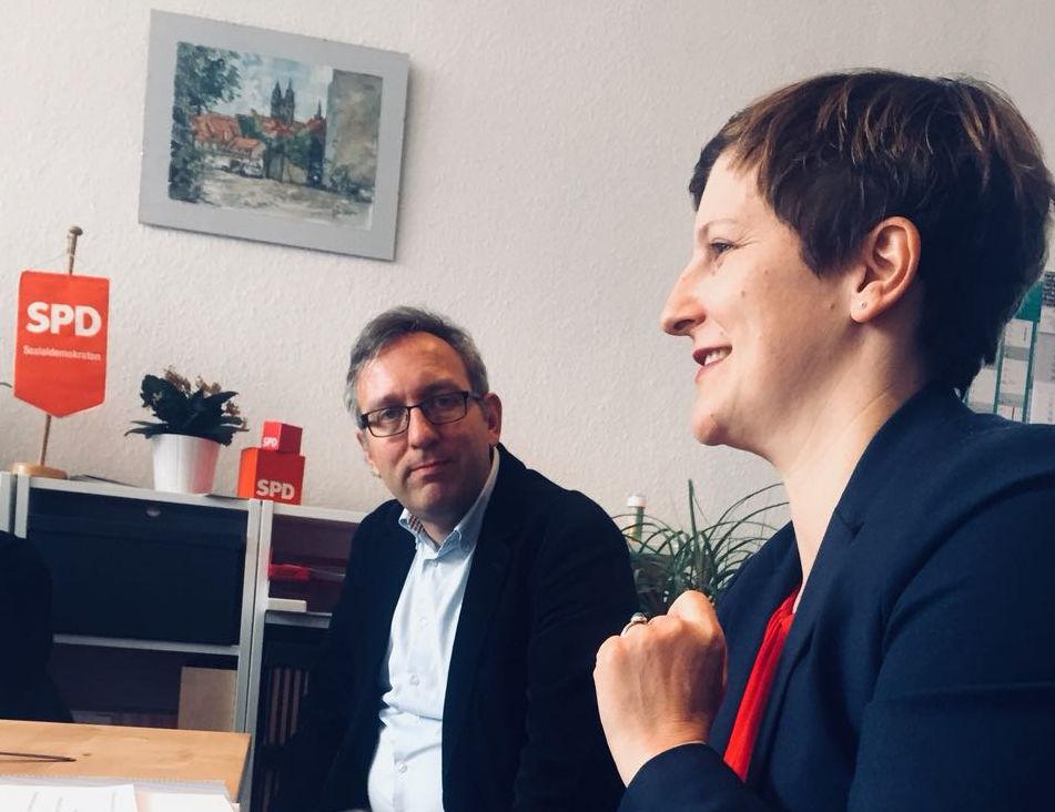 2018-03-27Treffen mit Leiter Landeszentrale für politische Bildung.